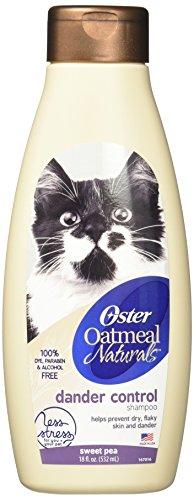 Oster Oatmeal Naturals Dander Control Cat Shampoo Sweet